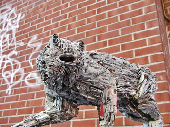 Newspaper Sculptures and Installations by NYC's Nick Georgiou: newspaper_sculptures_14_20110613_1691489650.jpg