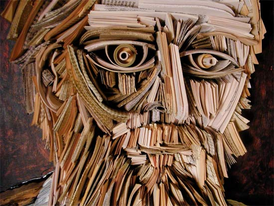 Newspaper Sculptures and Installations by NYC's Nick Georgiou: newspaper_sculptures_18_20110613_1668161990.jpg