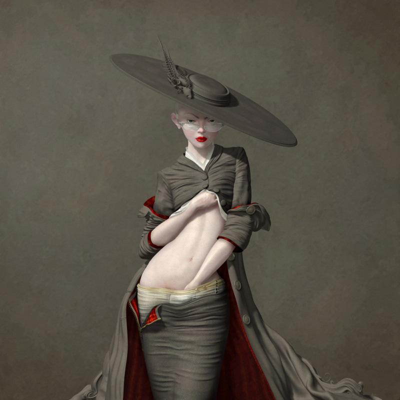 "Ray Caesar ""A Dangerous Inclination"" @ Corey Helford Gallery: ray_caesar_at_helford_4_20111021_1460926369.jpg"