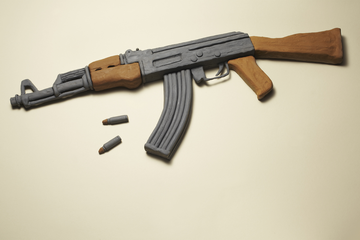 Harmless Weapons by Kyle Bean and Sam Hofman: bean_weapons_10_20111214_2099624247.jpg