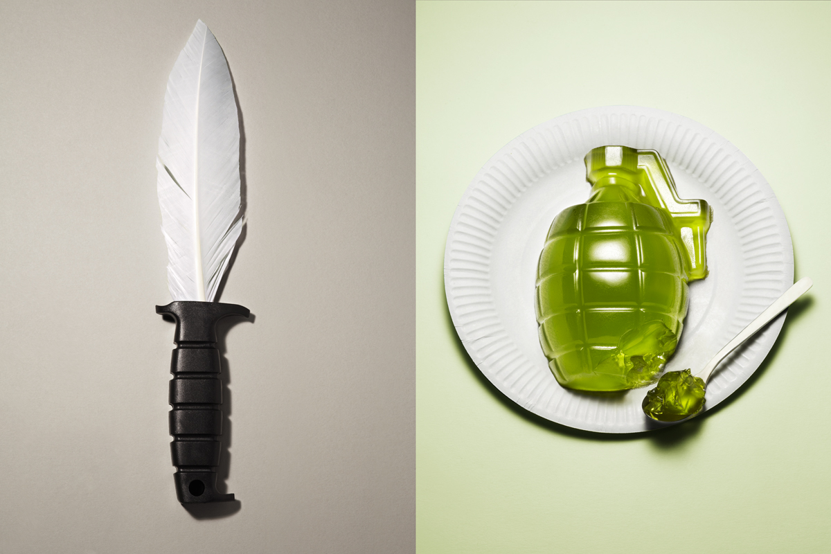 Harmless Weapons by Kyle Bean and Sam Hofman: bean_weapons_1_20111214_1097635293.jpg