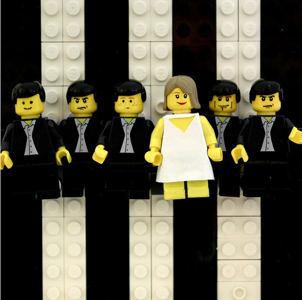 LEGOS as Album Cover Art by Aaron Savage: lego_cover_art_10_20120118_1615618595.jpg