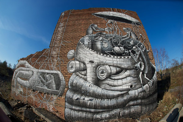 Giant Robot under construction by Phlegm: phlegm_new_wall_4_20120206_1808222482.jpg