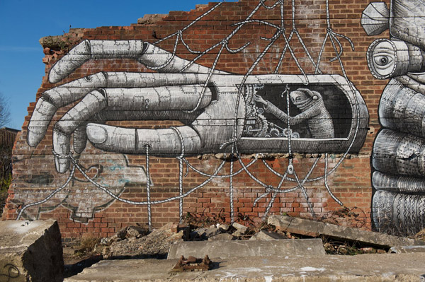 Giant Robot under construction by Phlegm: phlegm_new_wall_5_20120206_1809585341.jpg
