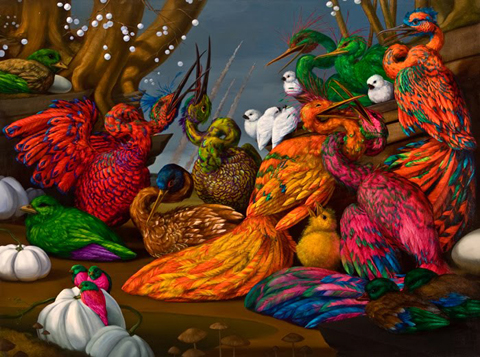 Bright, Bizarre, Beautiful: Paintings by Laurie Hogin: laurie_hogin_13_20120206_1925506355.jpg