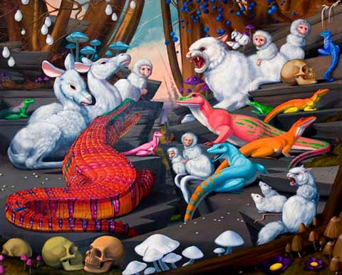 Bright, Bizarre, Beautiful: Paintings by Laurie Hogin: laurie_hogin_21_20120206_1991295902.jpg