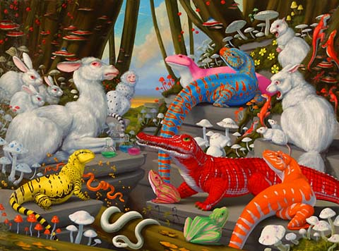 Bright, Bizarre, Beautiful: Paintings by Laurie Hogin: laurie_hogin_8_20120206_2076619105.jpg