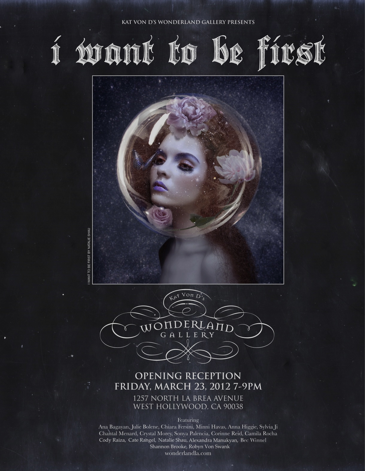 """I Want To Be First"" @ Wonderland Gallery: i_want_to_be_first_3_20120321_1638980004.jpg"