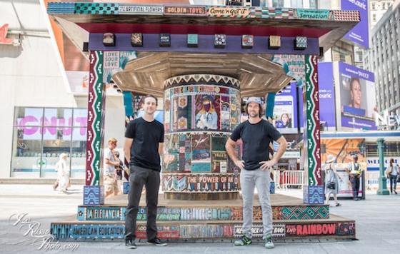 "Faile: ""Wishing On You"" Installation in Times Square"