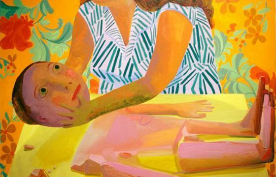Paintings by Dana Schutz