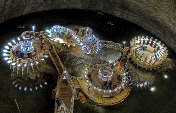 Romanian Salt Mines Turned into History Museum
