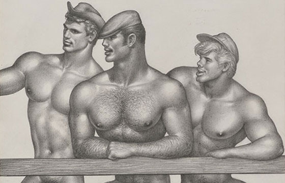 Tom of Finland: Early Work 1944 – 1972 @ David Kordansky, Los Angeles