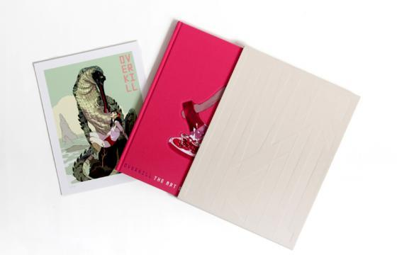 "Tomer Hanuka Limited Edition ""Overkill"" Book"