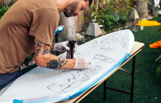 UNIV x Chandran Gallery x Juxtapoz Benefit & Auction for Waves For Water