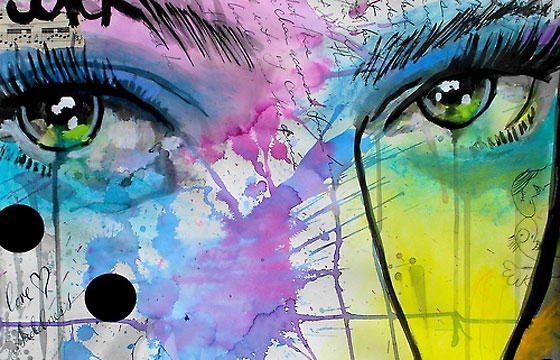 Work from Loui Jover