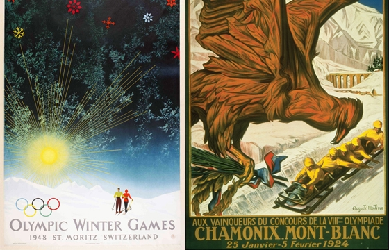 Winter Olympics Posters Through the Ages
