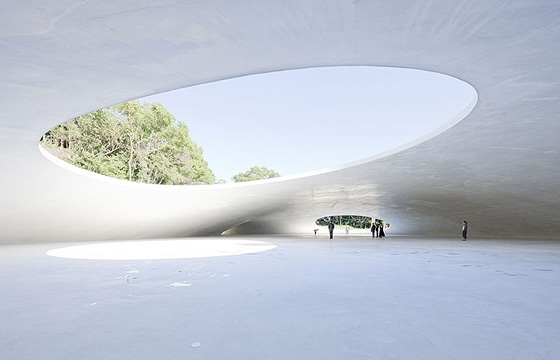 The Teshima Art Museum by Ryue Nishizawa