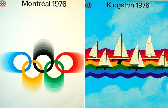 A Selection of Past Olympic Art