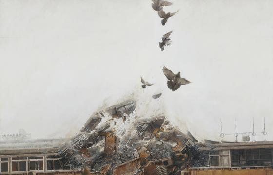 "Preview: Jeremy Geddes ""Exhale"" @ Jonathan LeVine Gallery, NYC"