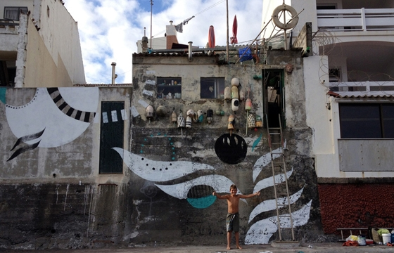 Lucy McLauchlan: New Murals in the Azores