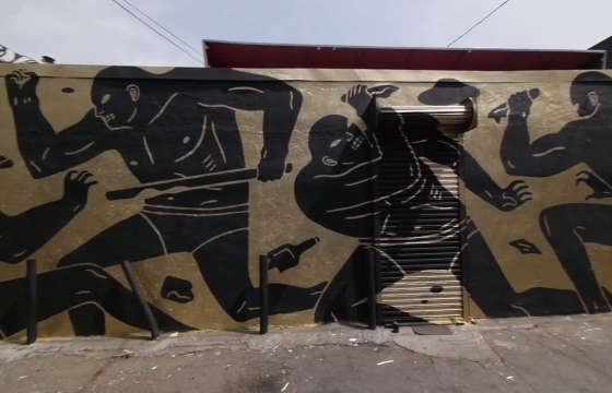 Converse Wall to Wall: Cleon Peterson in Los Angeles