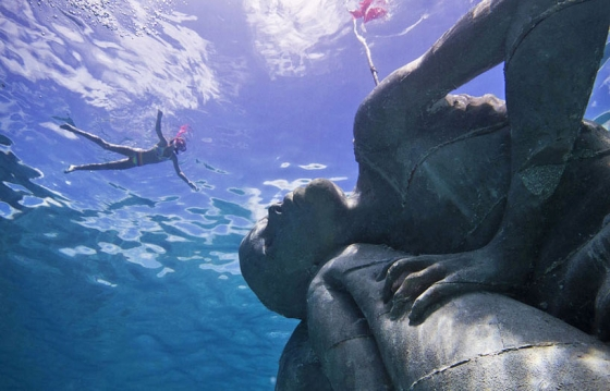 """Ocean Atlas,"" the Largest Underwater Sculpture"