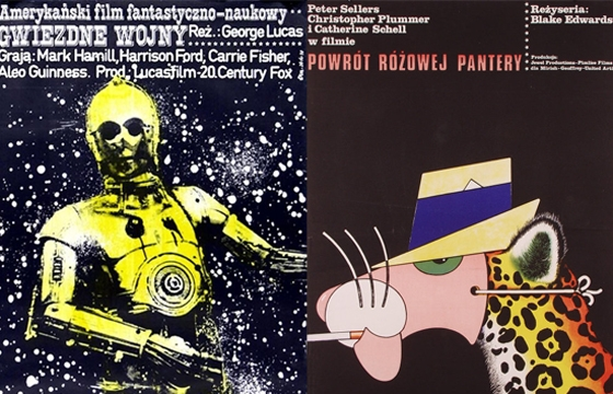 Polish Versions of American Movie Posters