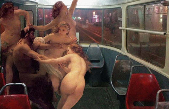 Art History Joins Your Daily Commute: A Series by Alexey Kondakov