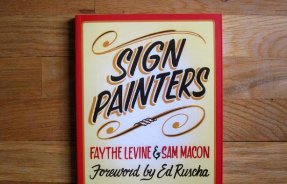 "BOOK REVIEW: ""SIGN PAINTERS"""