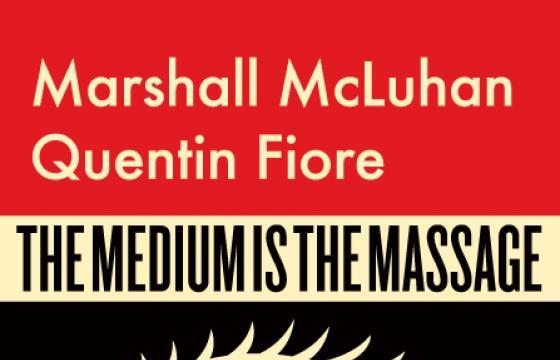 "Shepard Fairey for Marshall McLuhan's ""The Medium is the Massage"""
