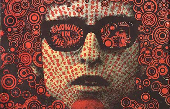 RIP, psychedelic poster artist, Martin Sharp