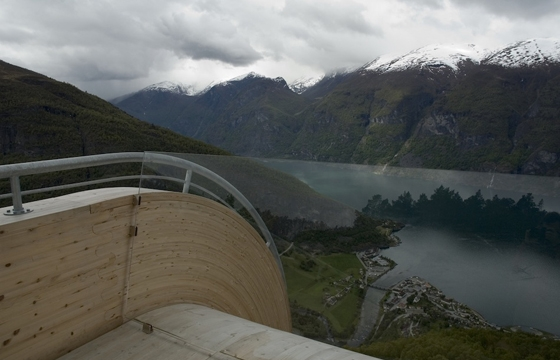'Aurland Look Out' by Todd Saunders and Tommie Wilhelmsen