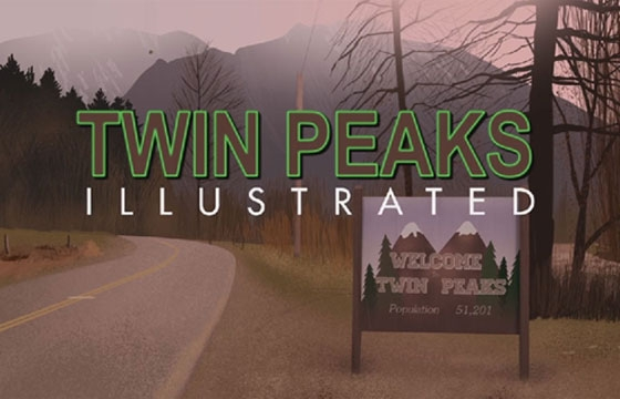 Martin Woutisseth's 'Twin Peaks Illustrated'