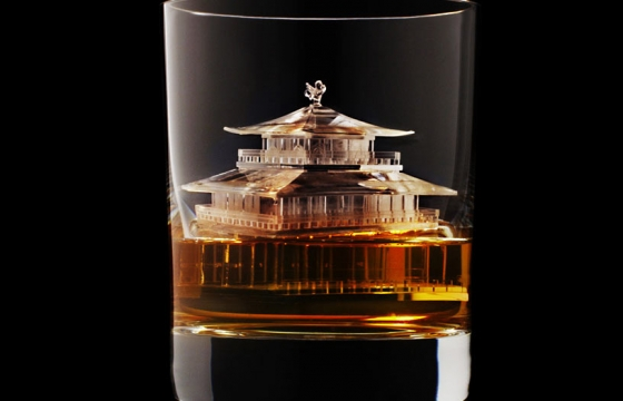 A Temple Ice-Cube for your Whiskey?