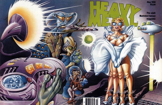 Classic Heavy Metal Magazine Covers