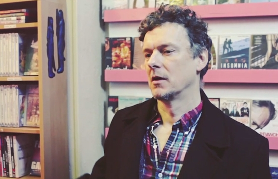 Michel Gondry Hangs Out at His Favorite Video Store