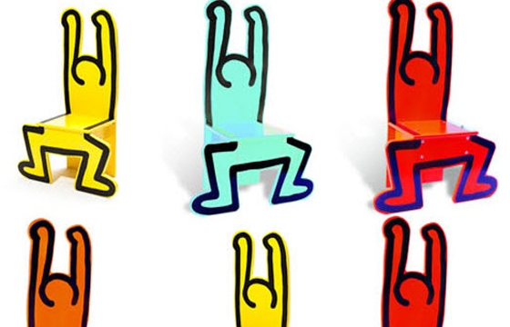 Keith Haring Kids Chairs