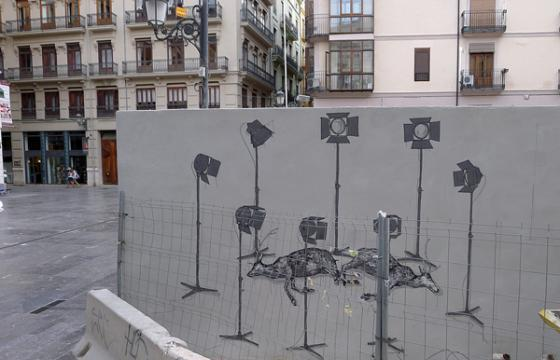 New Hyuro Mural in Valencia, Spain