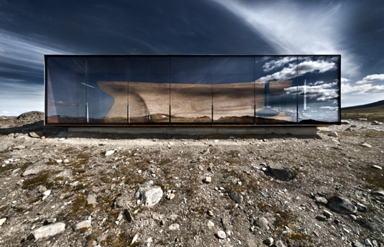 The Norwegian Wild Reindeer Centre Pavilion by Snøhetta
