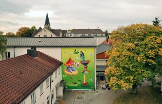 New Interesni Kazki Mural in St. Ottilien, Germany