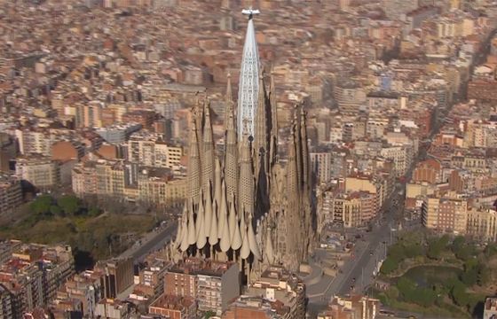 Video: Animated Rendering of a Finished Sagrada Familia Church