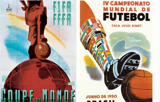 World Cup Posters 1930-2014