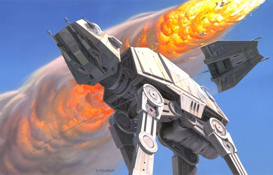 Best of 2014: Original Star Wars Concept Illustrations by Ralph McQuarrie