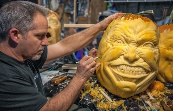 LCAD Presents: Jon Neill Pumpkin Carving Demonstration