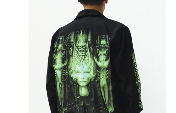 H.R. Giger for Supreme Fall/Winter 2014