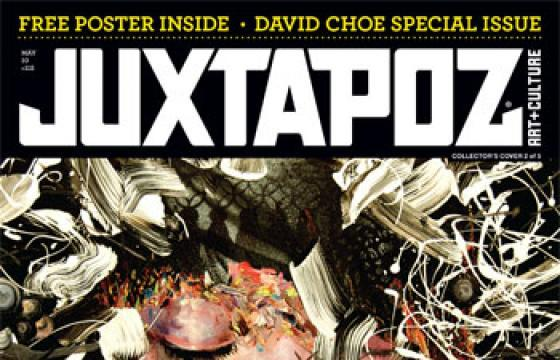 Get Excited: Four Different David Choe May Issue Covers